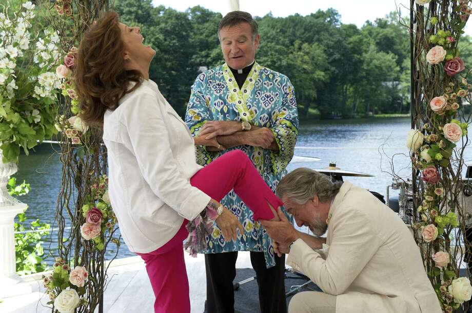 "Susan Sarandon (from left), Robin Williams and Robert De Niro star in ""The Big Wedding."" Photo: Lionsgate Pictures"