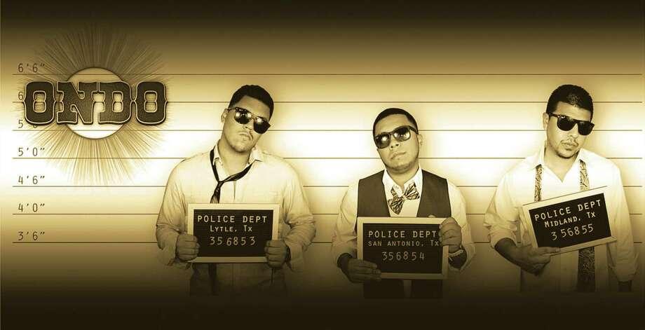 Young conjunto/norteño act Grupo Ondo includes Miguel Aguilar Jr. (from left), Ricardo Medina Jr. and Antonio Revilla. Photo: Courtesy Photo