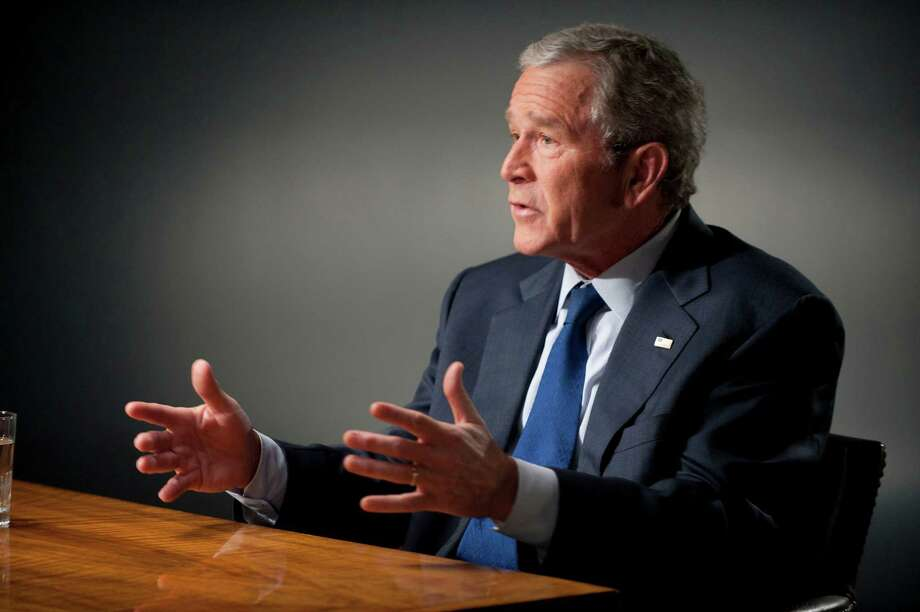 As the George W. Bush Presidential Library opens, let's look back at some of the former president's feats of vocabulary. Photo: Virginia Sherwood, Getty Images / © NBC Universal, Inc.