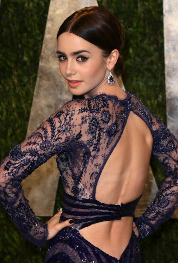 Lily Collins Photo: David Livingston, Getty Images / 2013 David Livingston