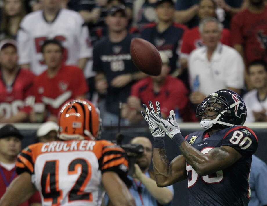 1. Andre Johnson - WR, 2003, Round 1, 3 overall Photo: Brett Coomer, Houston Chronicle / © 2012  Houston Chronicle