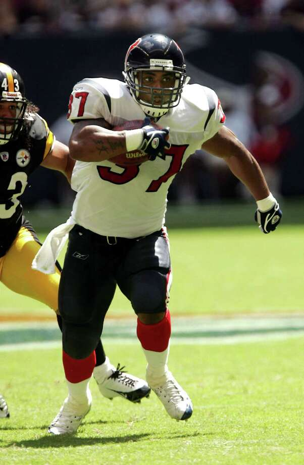 16. Domanick Davis - RB, 2003, Round 4, 101 overall Photo: Stephen Dunn, Getty Images / Getty Images North America