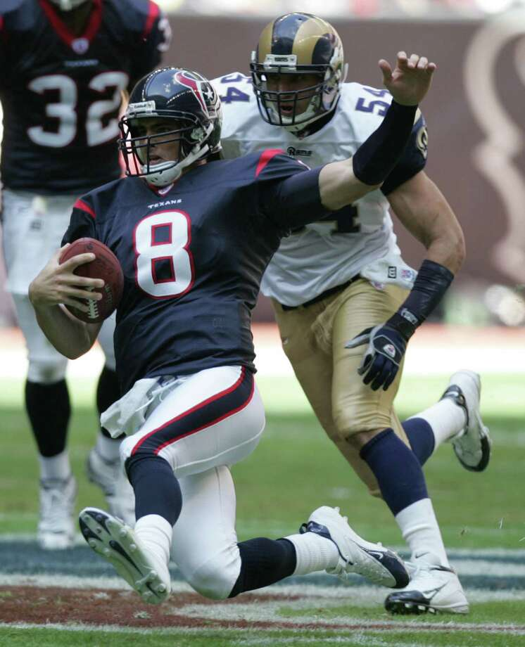 23. David Carr - QB, 2002, Round 1, 1 overall Photo: Brett Coomer, Houston Chronicle / Houston Chronicle