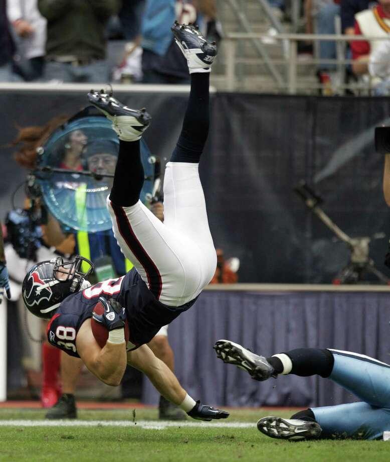 30. Garrett Graham - TE, 2010, Round 4, 118 overall Photo: Brett Coomer, Houston Chronicle / © 2012  Houston Chronicle