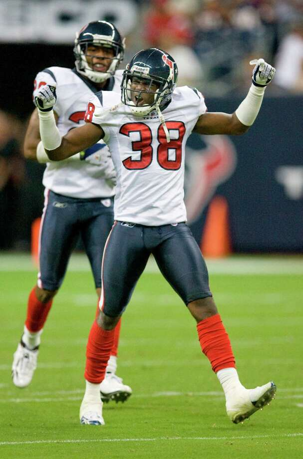 60. Demarcus Faggins - CB, 2002, Round 6, 173 overall Photo: Steve Campbell, Houston Chronicle / Houston Chronicle