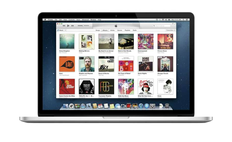 This undated screen image released by iTunes shows the iTunes music page on a computer screen. The iTunes music store changed how we consume music and access entertainment. It's not only music's biggest retailer, it also dominates the digital video market, capturing 67 percent of the TV show sale market and 65 percent of the movie sale market, according to information company NPD group. Its apps are the most profitable, it has expanded to books and magazines, and it is now available in 119 countries.  (AP Photo/iTunes) Photo: HOEP / iTunes