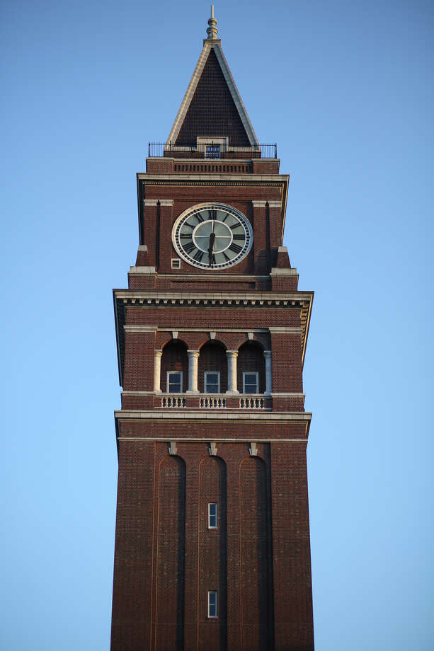 The clock tower is shown. Photo: JOSHUA TRUJILLO, SEATTLEPI.COM / SEATTLEPI.COM