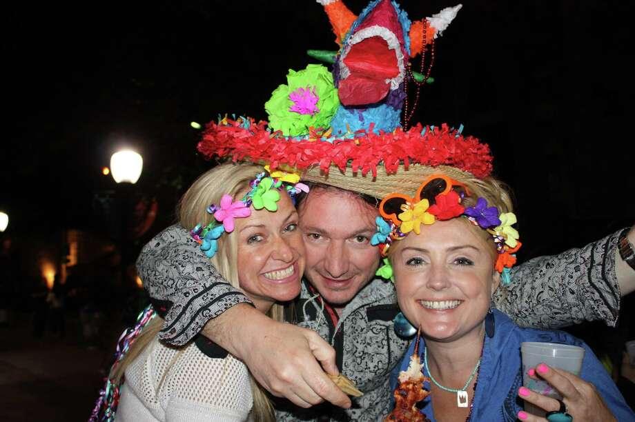 The Fiesta fun continued Wednesday night at NIOSA. Photo: Libby Castillo,  MySA.com