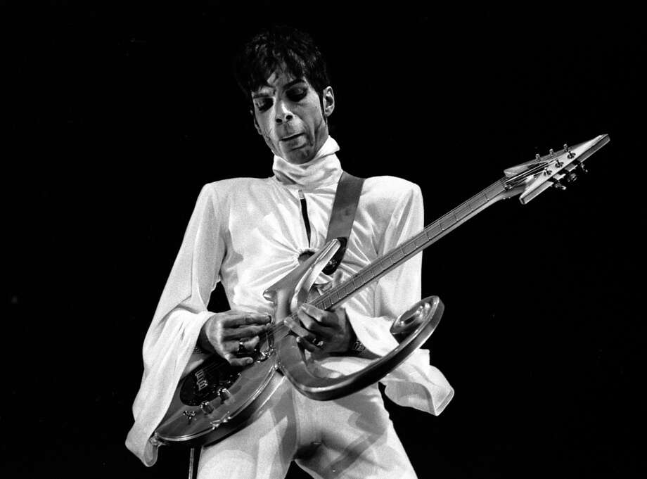 Photo of PRINCE; 24-03-1995 Den Bosch,Netherlands, Prince  (Photo by Paul Bergen/Redferns)