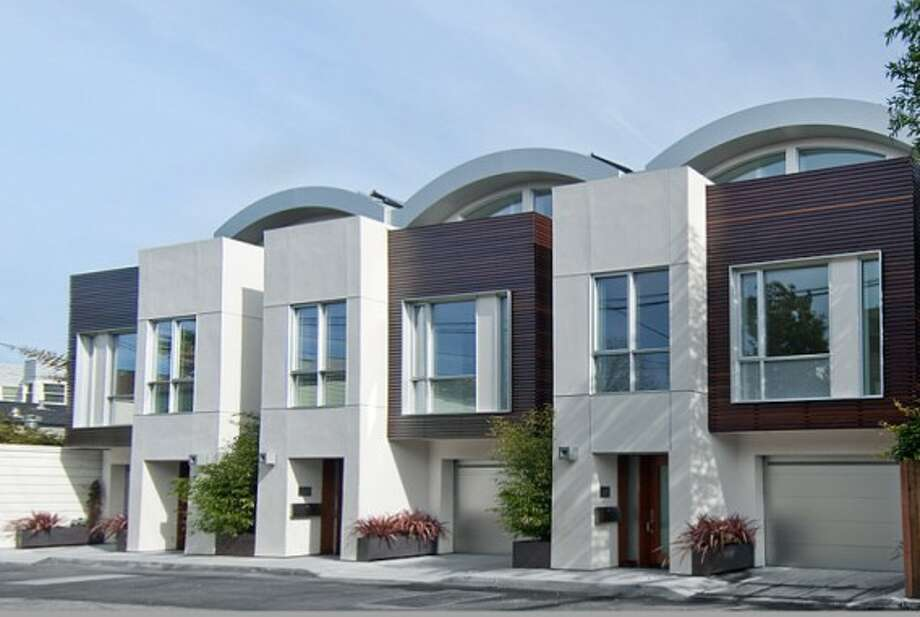 Nove- Nine luxurious eco-friendly homes in SF's Mission District.  Photo via Jetson Green.