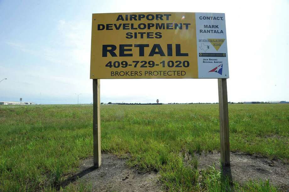 The latest idea of development on the Jack Brooks Regional Airport property comes from a Phoenix based developer that wants to take the 68 acres in front of the airport and turn it into a large retail center.  Dave Ryan/The Enterprise