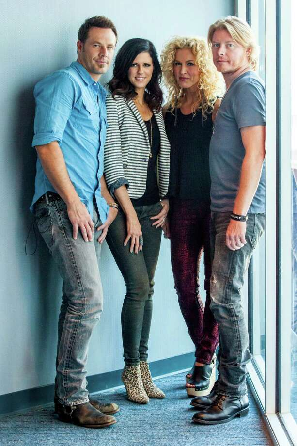 Jimi Westbrook, Kimberly Schlapman, Karen Fairchild and Philip Sweet. Photo: Ed Rode, Getty Images / 2012 Ed Rode
