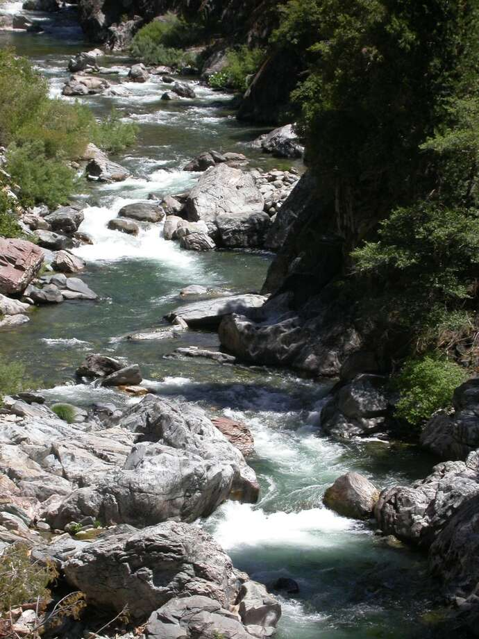 The Yuba River in Downieville area in prime shape for opener