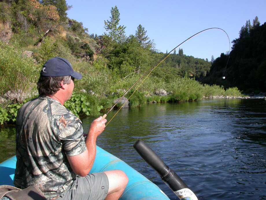 . . . and then hooks and fights trout -- got to love it when a plan comes together