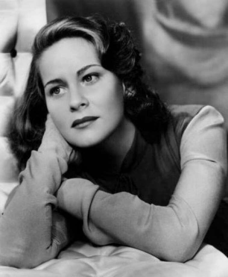 Alida Valli, Italian actress of the mid-century.