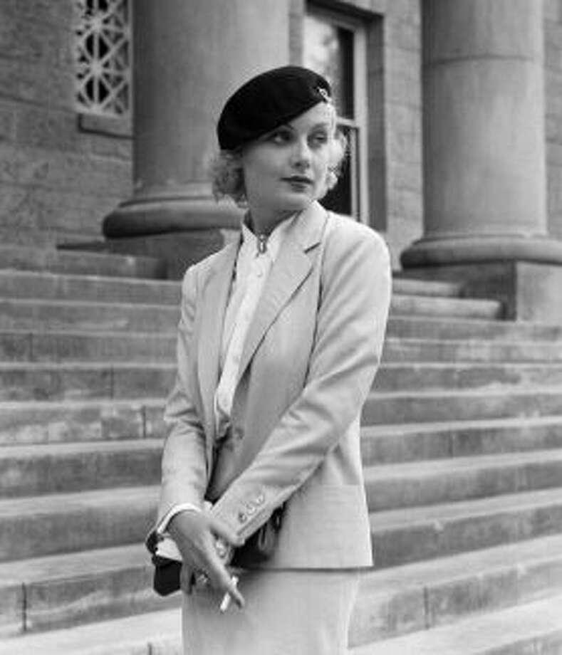 Carole Lombard , great screen comedienne.