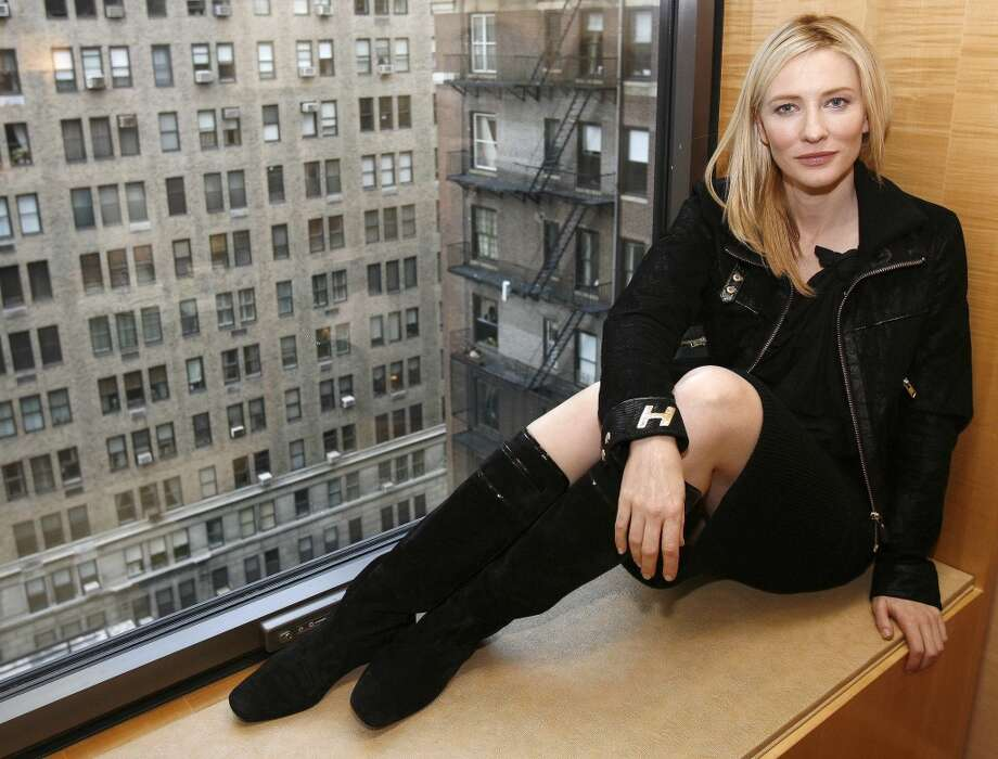 Cate Blanchett, great Australian actress.