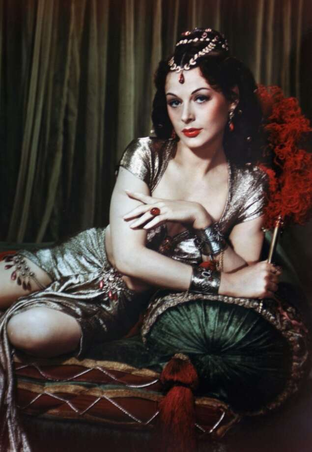 Hedy Lamarr, one of the screen\'s greatest beauties.