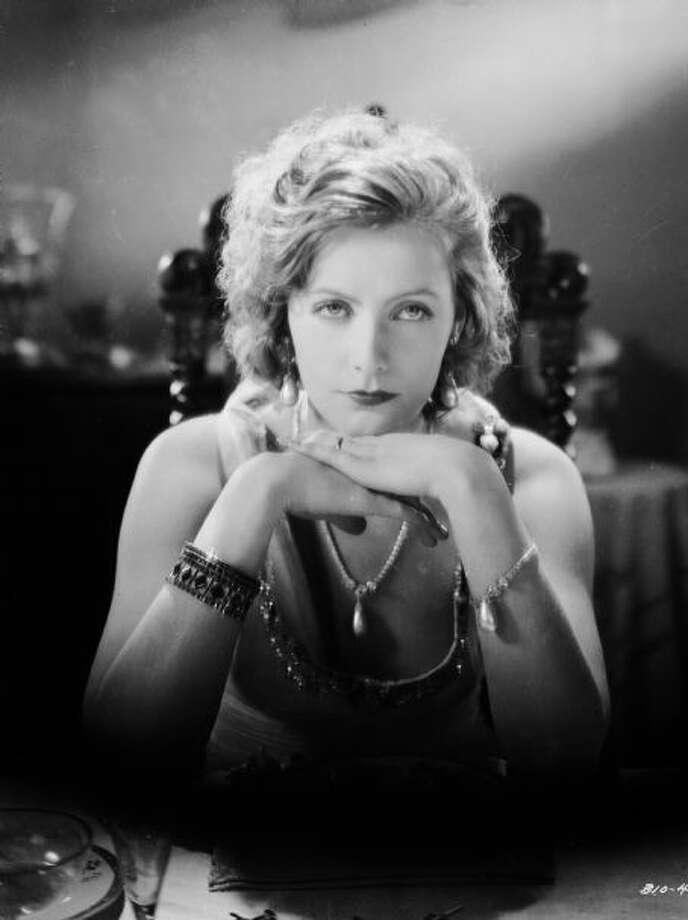 Greta Garbo, great screen beauty, legend and screen actress.