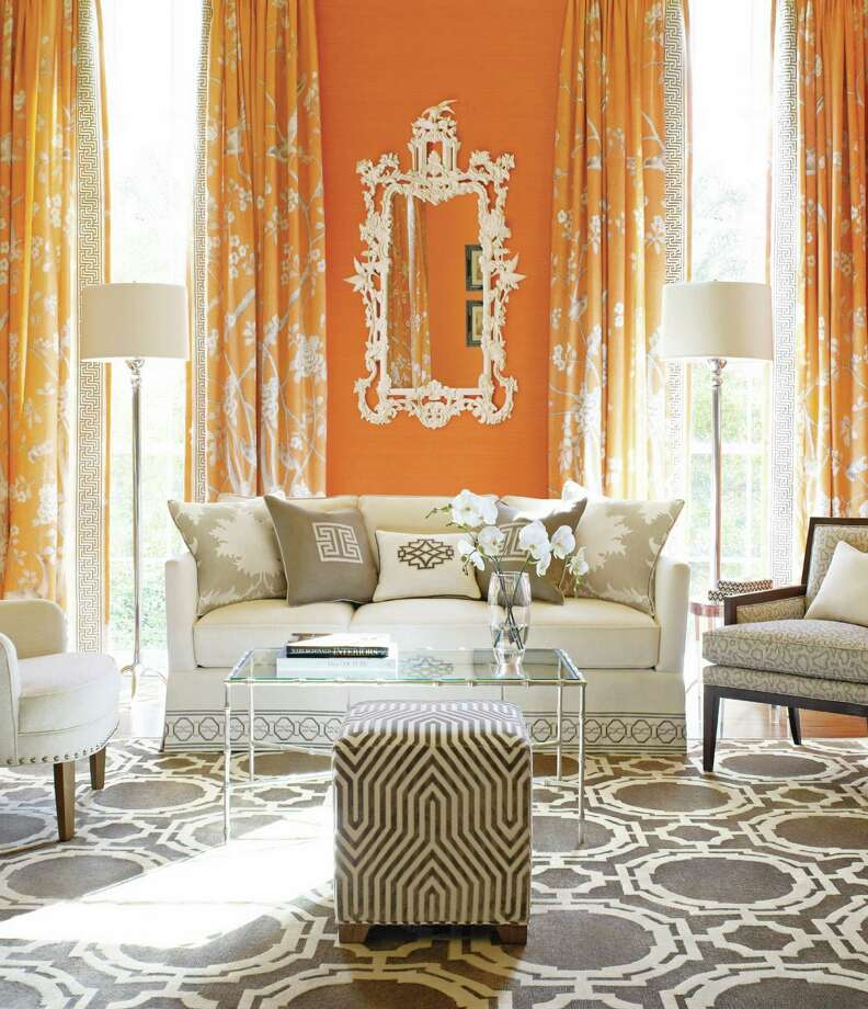 "A room designed by Mary McDonald of ""Millon Dollar Decorators,"" who will be making an appearance at Decorative Center Houston on May 1 for DCH Spring Market."