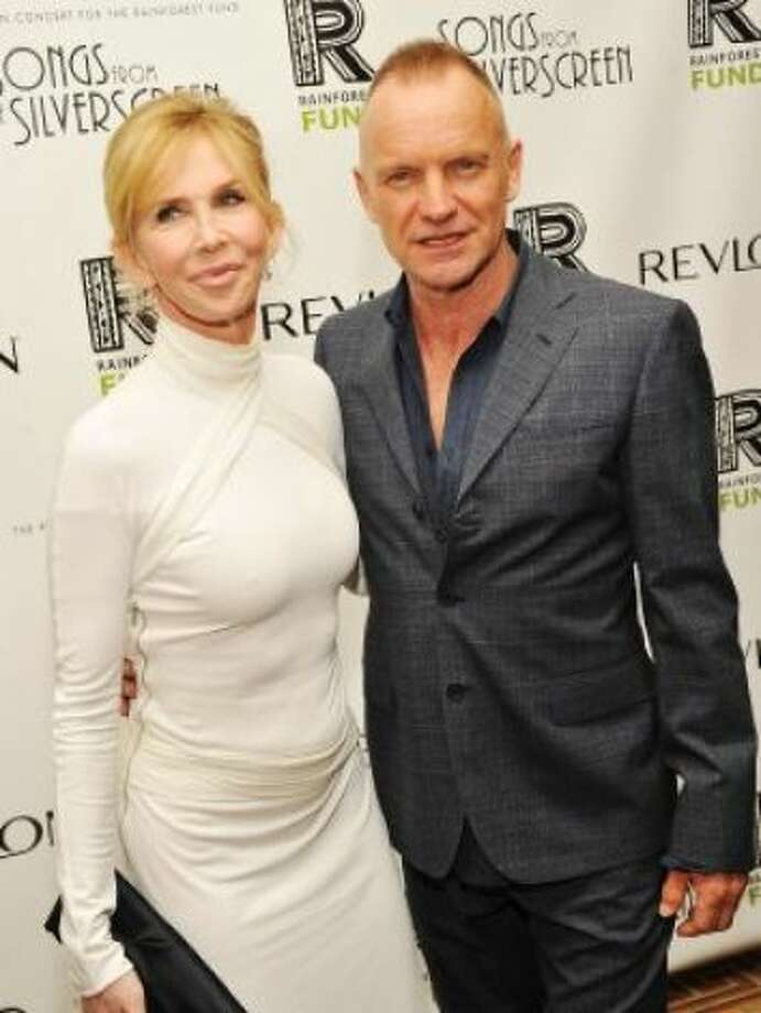 The asiring singer's parents are activist/actress Trudie Styler and singer Sting. Photo: Stephen Lovekin / Getty Images / SF