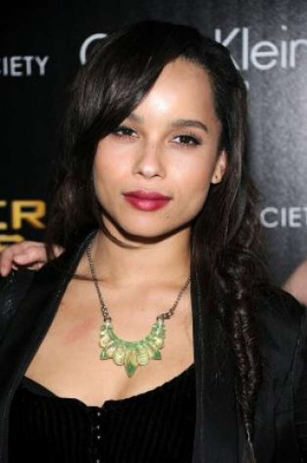 "Zoe Kravitz most recently appeared in 2011's ""X-Men: First Class,"" and she fronts the rock band Elevator Fight. Photo: Dimitrios Kambouris / Getty Images / SF"