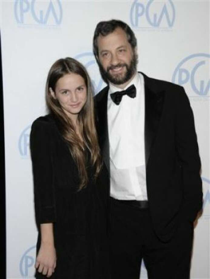 "Director Judd Apatow has given his oldest daughter Maude Apatow a career boost. She's been in his ""Knocked Up,"" ""Funny People"" and ""This Is 40."" Photo: ASSOCIATED PRESS / SF"