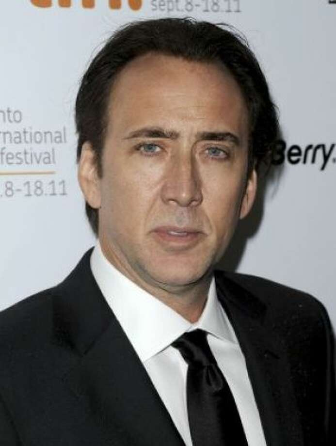 Weston's famous dad? Actor Nicolas Cage. Photo: Jason Merritt / Getty Images / SF