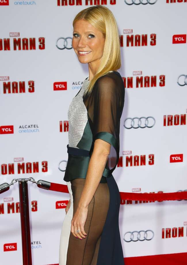 HOLLYWOOD, CA - APRIL 24:  Actress Gwyneth Paltrow attends the premiere of Walt Disney Pictures' 'Iron Man 3' at the El Capitan Theatre on April 24, 2013 in Hollywood, California.  (Photo by Imeh Akpanudosen/Getty Images)