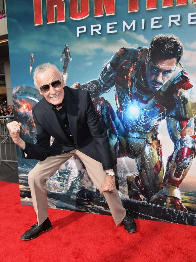 Writer/executive producer Stan Lee attends Marvel's' Iron Man 3 Premiere at the El Capitan Theatre on April 24, 2013 in Hollywood, California.  (Photo by Alberto E. Rodriguez/WireImage)