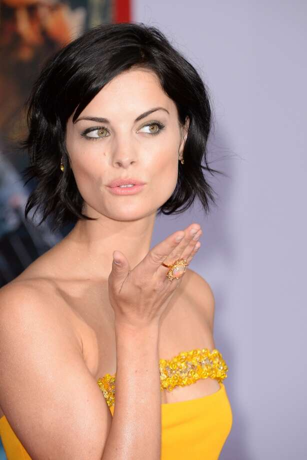 HOLLYWOOD, CA - APRIL 24:  Actress Jaimie Alexander attends the premiere of Walt Disney Pictures' 'Iron Man 3' at the El Capitan Theatre on April 24, 2013 in Hollywood, California.  (Photo by Jason Merritt/Getty Images)
