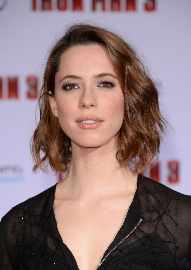 HOLLYWOOD, CA - APRIL 24:  Actress Rebecca Hall attends the premiere of Walt Disney Pictures' 'Iron Man 3' at the El Capitan Theatre on April 24, 2013 in Hollywood, California.  (Photo by Jason Merritt/Getty Images)