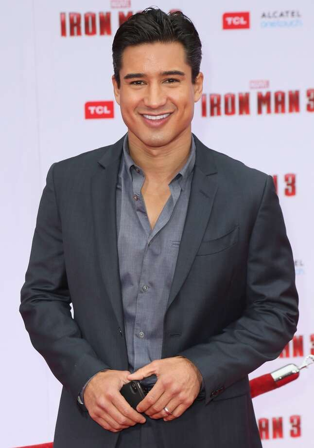 "HOLLYWOOD, CA - APRIL 24:  TV host Mario Lopez attends the premiere of Walt Disney Pictures' ""Iron Man 3"" at the El Capitan Theatre on April 24, 2013 in Hollywood, California.  (Photo by David Livingston/Getty Images)"