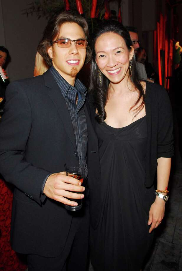 Apolo Anton Ohno and guest. (Photo by M. Caulfield/WireImage for InStyle Magazine) Photo: Michael Caulfield Archive, Getty Images / WireImage
