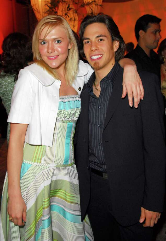 Dominique Swain and Apolo Anton Ohno. (Photo by M. Caulfield/WireImage for InStyle Magazine) Photo: Michael Caulfield Archive, Getty Images / WireImage