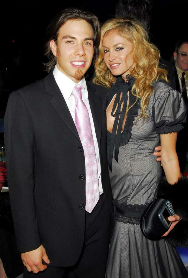Apolo Anton Ohno and Paulina Rubio (Photo by Michael Caulfield/WireImage) Photo: Michael Caulfield, Getty Images / WireImage