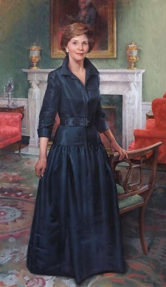 Laura Welch Bush by John Howard Sanden