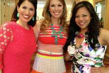 Three competitors unite: Monica Taylor (KABB), Myra Arthur (KSAT) and Eileen Teves (KENS).