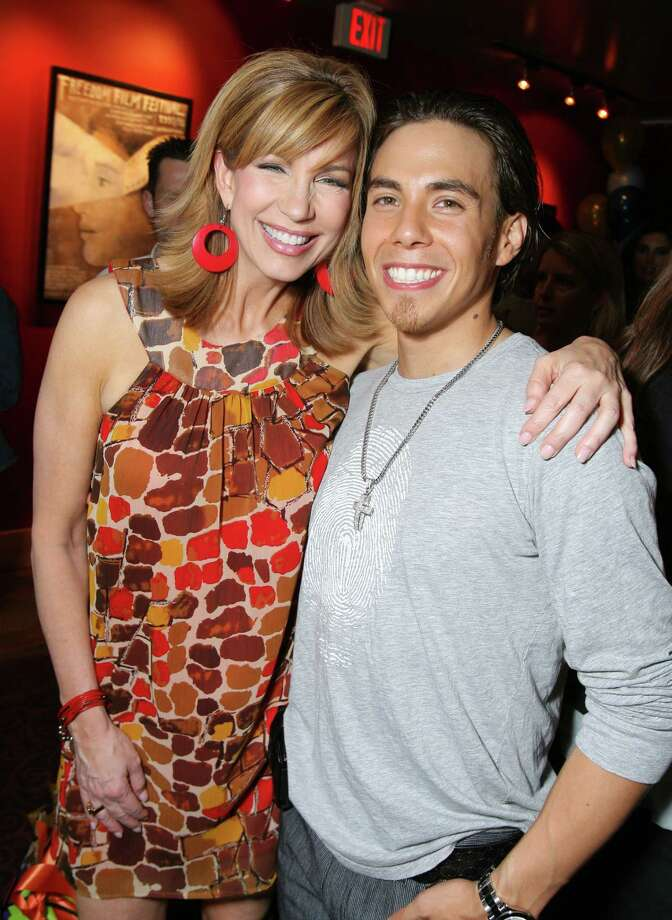 Leeza Gibbons and Apolo Ohno (Photo by E. Charbonneau/WireImage for Ketchum Entertainment Marketing) Photo: E. Charbonneau, Getty Images / WireImage