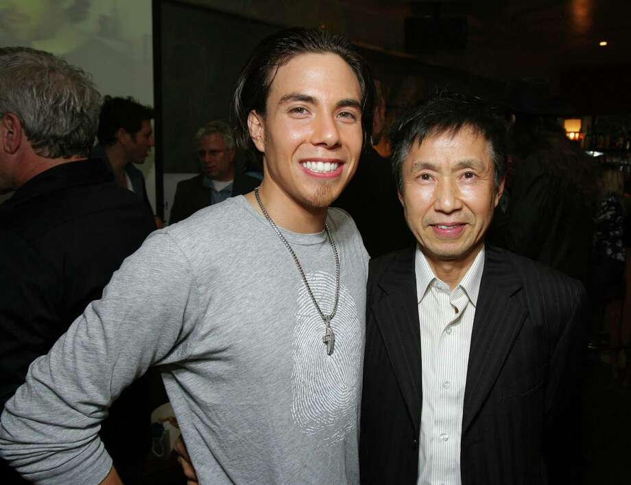 Apolo Ohno and Yuki Ohno (Photo by E. Charbonneau/WireImage for Ketchum Entertainment Marketing) Photo: E. Charbonneau, Getty Images / WireImage