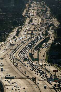 11. Traffic is among the worst: Houston's traffic routinely ranks among the worst in the nation. A recent Texas A&M study found Houstonians spend 52 hours a year commuting to and from work.  Photo: Smiley N. Pool/Houston Chronicle
