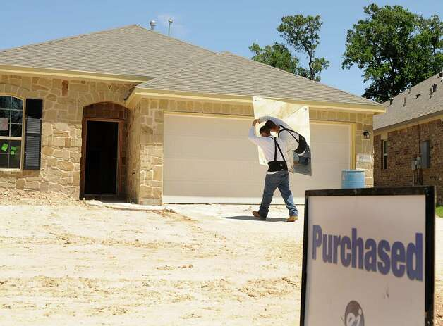 1. Homes are selling in a flash: The housing market is booming in the Houston area because of the amount of available jobs. So you better act fast if you see something you like.   Photo: David Hopper/Staff Houston ranks among the hottest real estate markets Photo: David Hopper, File / freelance