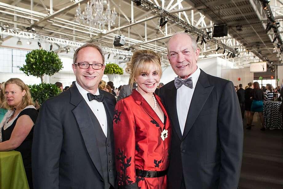 Stuart Montgomery, Elizabeth McCarty and Edward Suharski at Meals on Wheels' Star Chefs & Vintners Gala on April 21, 2013. Photo: Drew Altizer Photography