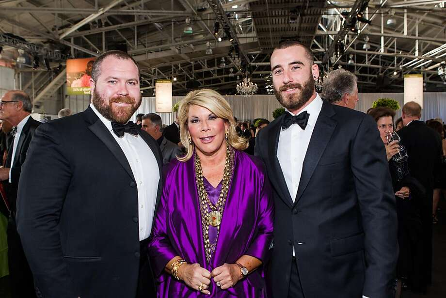 Todd Stallings, Michelle Schmitt and Alex Schmitt at Meals on Wheels' Star Chefs & Vintners Gala on April 21, 2013. Photo: Drew Altizer Photography