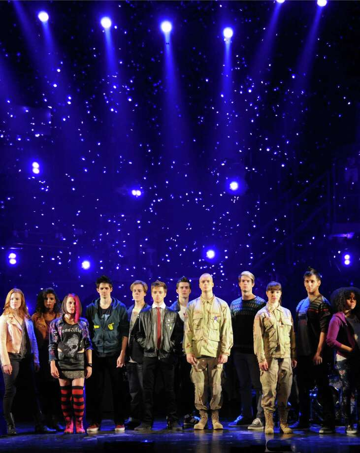 "The national touring company of the musical ""American Idiot"" is playing the Shubert Theater in New Haven May 3 to 5. Photo: Contributed Photo / Connecticut Post Contributed"