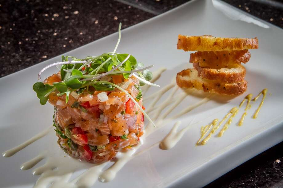 The Salmon Tartare at La Sen Bistro in Concord.