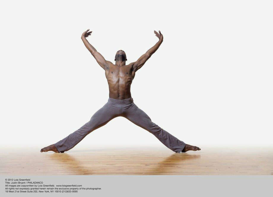 Justin Bryant is a featured performer dancer in the troupe Philadanco.