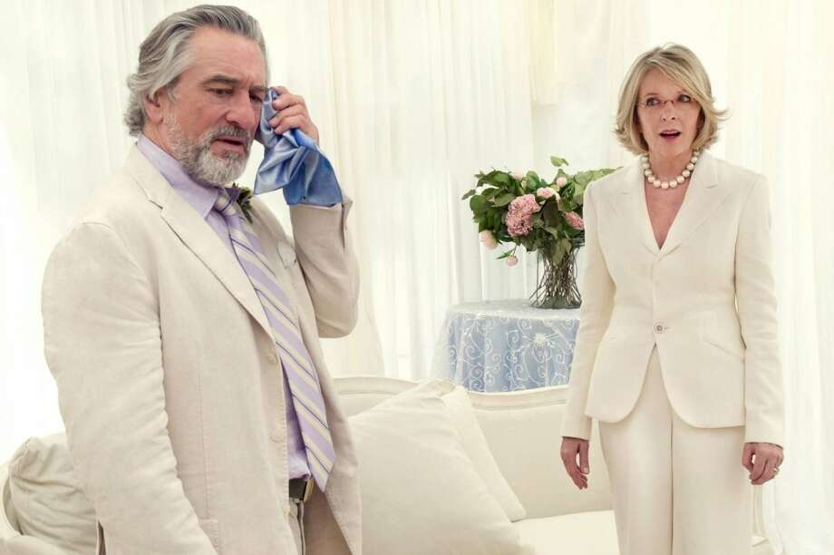 "Robert De Niro and Diane Keaton star in ""The Big Wedding."""
