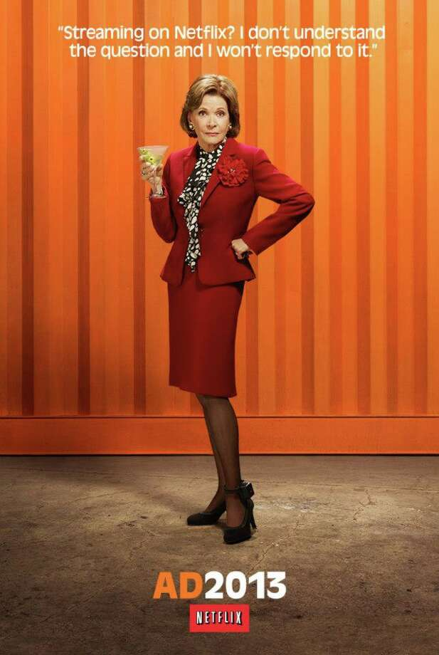 Lucille (Jessica Walter). Note the ankle bracelet.