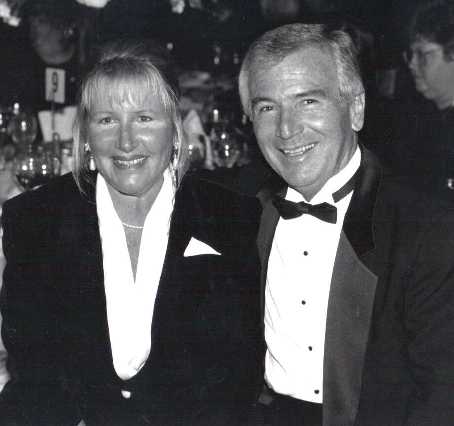 A Broadway review concert will take place Sunday, May 5, at Sacred Heart University in honor of the late actress-singer Patricia Hemenway Cook, seen here with husband, C. Donald Cook, SHU's executive director of intercollegiate athletics. Photo: Contributed Photo